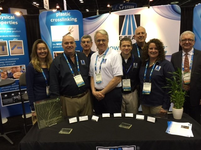 E Beam Services Post Show Wrap Up Crosslinking At Npe 2015