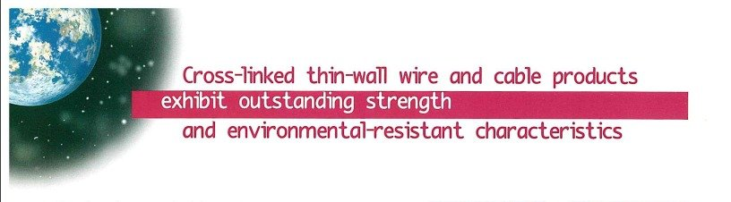thin wall wire and cable